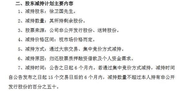 徐卫国减持计划主要内容(挖贝网wabei.cn配图)。jpg