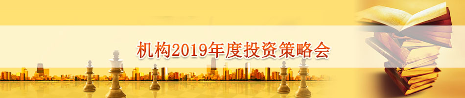 机构2019年度投资策略会