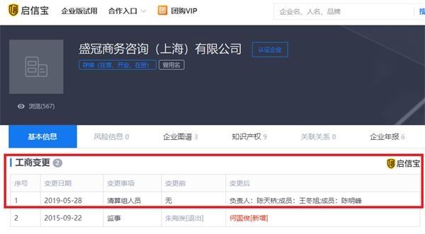 中国前首富陈天桥清算了自己的公司