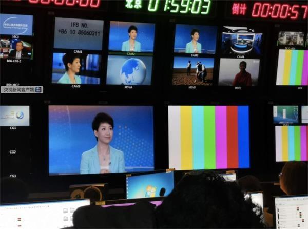 图文实录:中美女主播电视辩论