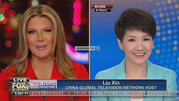 圖文實錄:中美女主播電視辯論