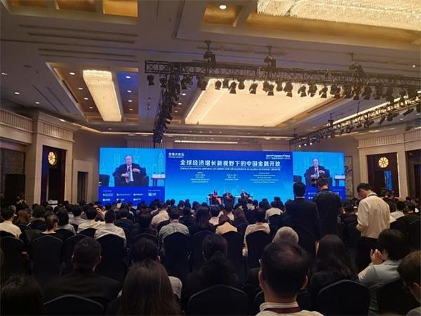 周小川陆家嘴演讲全文:进一步金融开放很重要。目前,外部资金占比相对较低