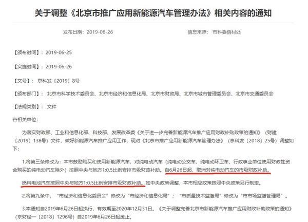 不再補貼!北京率先發文取消地補 其他城市也將緊跟 新能源車會漲價嗎?