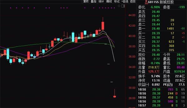 东方红资管再下调新城控股估值至25.21元/股 第2张
