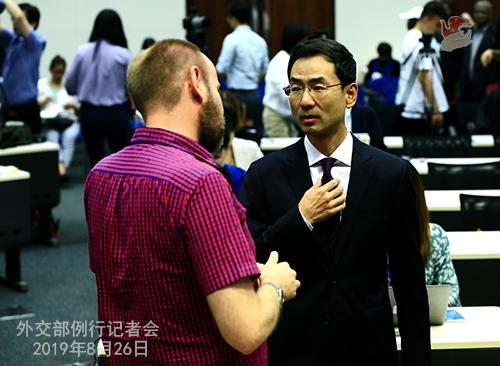 外交部回应美加征关税措施:中方不吃威胁恫吓这一套