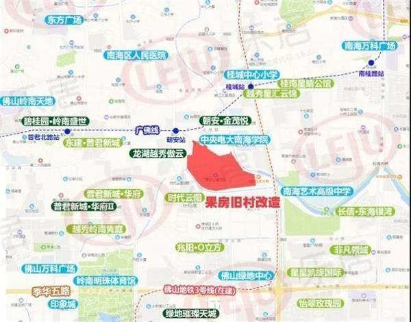 果房村项目位置示意图(制图:黎毓贤)