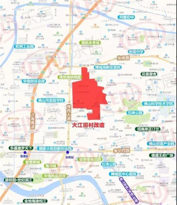 大江村位置示意图(制图:黎毓贤)