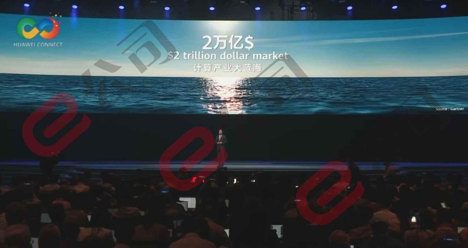 【视频直播中】华为全联接大会召开 发布全球最快Ai训练集群Atlas 900