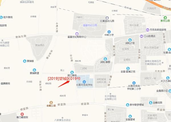 金辉摇号竞得望城区019号地块 住宅限价7200元/平