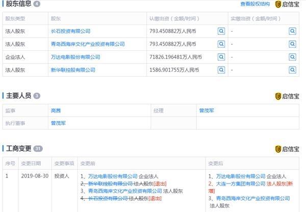 <a href=/gupiao/000620.html  class=red>新华联</a>退出万达影视股东行列
