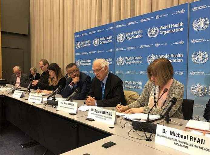 """世卫组织暂不将新型冠状病毒肺炎疫情确定为""""国际关注的突发公共卫生事件"""""""