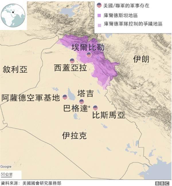 数十枚导弹炮轰美军基地 伊朗复仇!美伊中东军力部署了解一下
