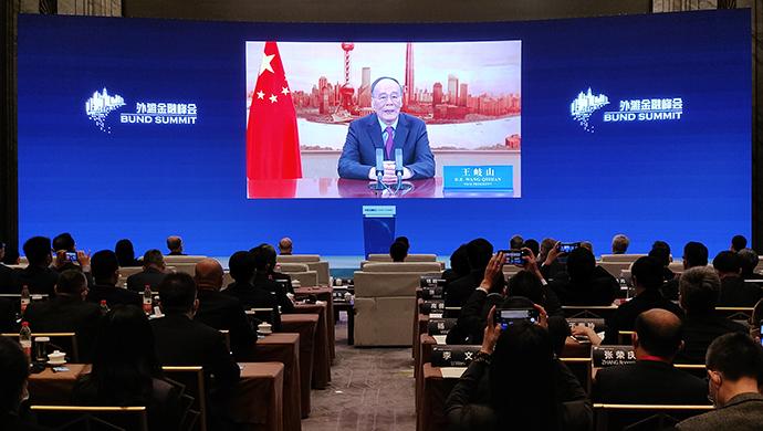 王岐山:中国金融不能走投机赌博的歪路 不能走庞氏骗局邪路