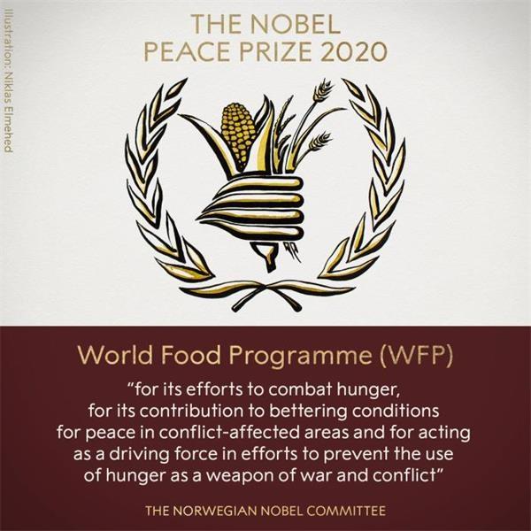 2020年诺贝尔和平奖揭晓 联合国世界粮食计划署获奖
