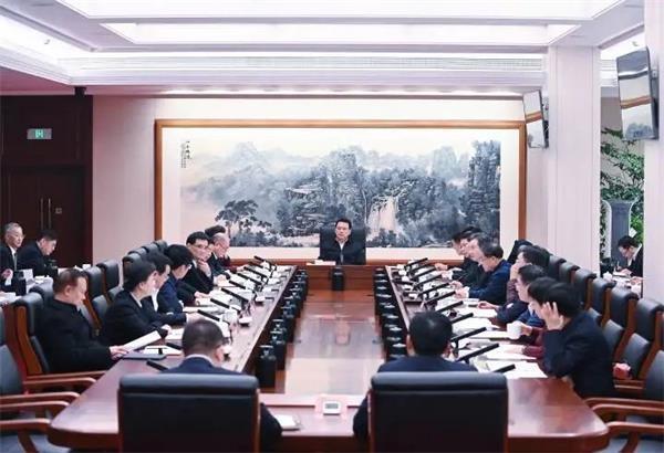 浙江省委常委会会议专题研究浙江反垄断和防止资本无序扩张