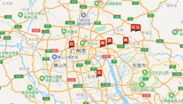 广州一日成交7宗地收金132亿元 仅一宗宅地达到政府限价