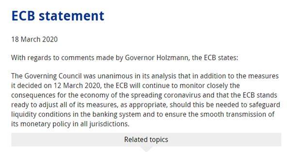 美国财政部将向美联储货币市场流动性工具提供100亿美元的外汇稳定基金信用保护