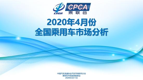 中汽协:中国4月份乘用车销量154万辆 同比下降2.6%