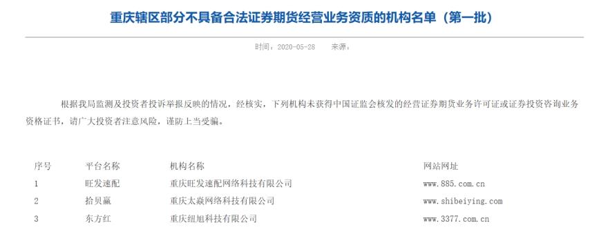 两天内在数百家机构的黑名单中利用10倍以上!上海市,广东省和其他证券监管局警告场外资金风险