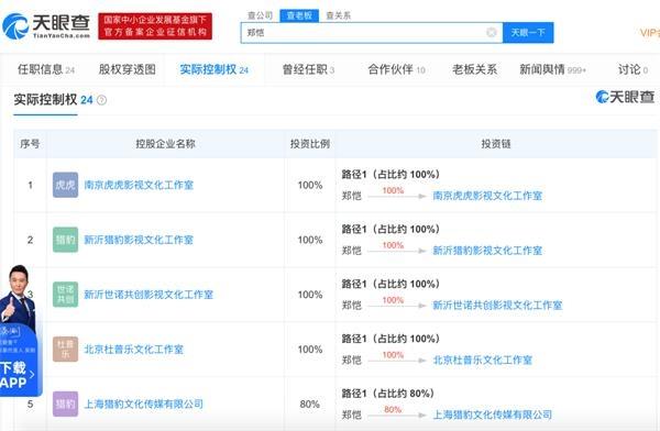 """""""知名演员郑恺被指旗下火锅店涉嫌""""抄袭"""":年入7600万 实控24家公司"""