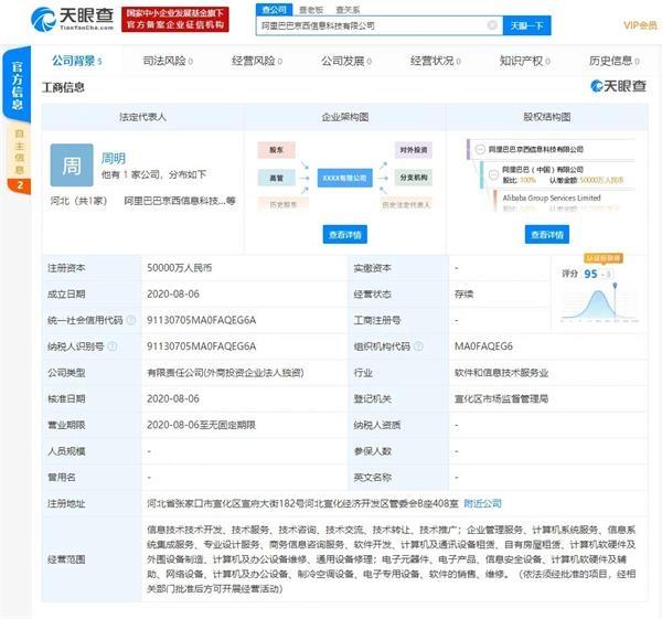 《【鹿鼎官网】阿里云回应新公司京西:随口起的 没想到被热搜 决定这么做》