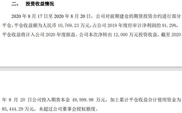 63岁董事长带队炒期货4天赚1亿、4个月暴赚近7亿!16批平仓无一失手
