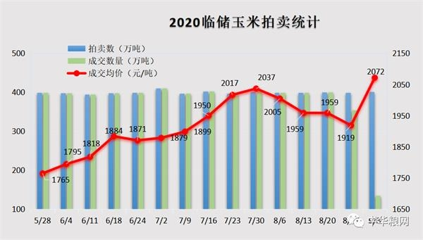 玉米市场将出惊雷:定向销售饲料水稻、小麦拍卖共3000万吨