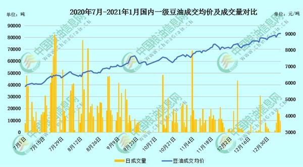 关注月度报告 豆油风险增加