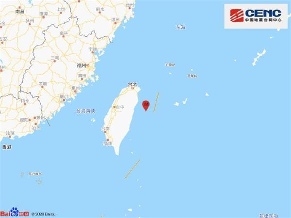 台湾花莲县发生4.4级地震