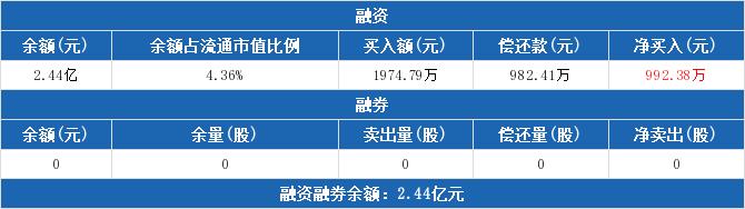 新五丰:融资净买入992.38万元,融资余额2.44亿元(06-04)
